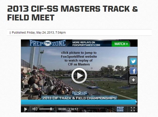 cif track masters meet 2012 calendar